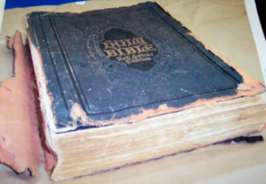 bible before repair work