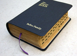 finished bible